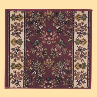 Runner Area Rug 2' 2 Wide, Sold by Foot Red Polypropylene