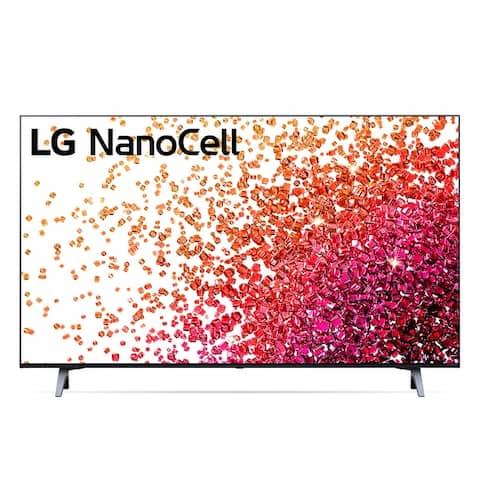 LG 43NANO75UPA UHD Television - Black
