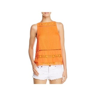 Free People Womens Casual Top Peplum Sleeveless (2 options available)