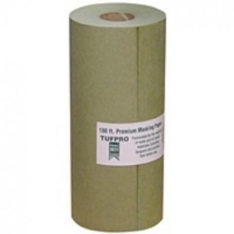 "Trimaco 12206 Masking Paper, 6"" x 180', Green"