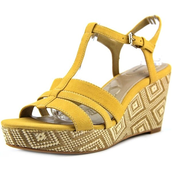 Giani Bernini Womens SADIEE Open Toe Casual T-Strap Sandals