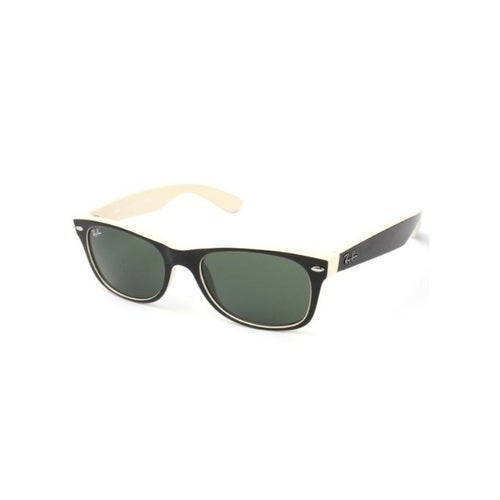 f88ce00044c Shop Ray Ban RB2132 875 Wayfarer Color Mix 55mm Green Classic G-15 Lens  Sunglasses - Free Shipping Today - Overstock.com - 20012068