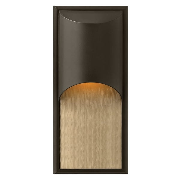 """Hinkley Lighting 1834-LED 18"""" Height ADA Compliant Dark Sky LED Outdoor Wall Sconce from the Cascade Collection - n/a"""