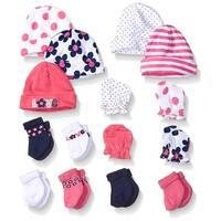 Gerber Baby 15 Piece Accessories Bundle, Flower, New Born - Flower