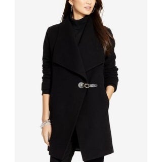 Lauren Ralph Lauren Draped Coat Black in Size 2