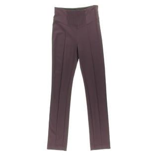 Catherine Malandrino Womens Pintuck Skinny Leg Casual Pants - 4
