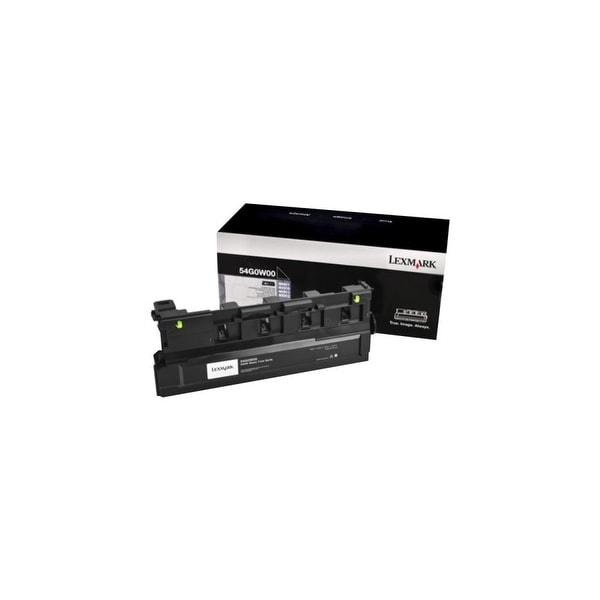 Lexmark 54G0W00 Lexmark Waste Toner Bottle - Black - Laser - 90000 Page