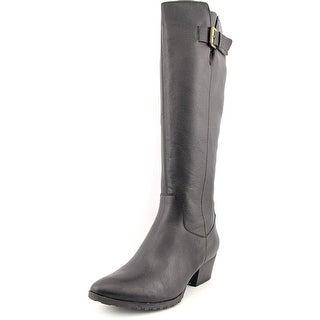 Bandolino Tadao Round Toe Leather Knee High Boot