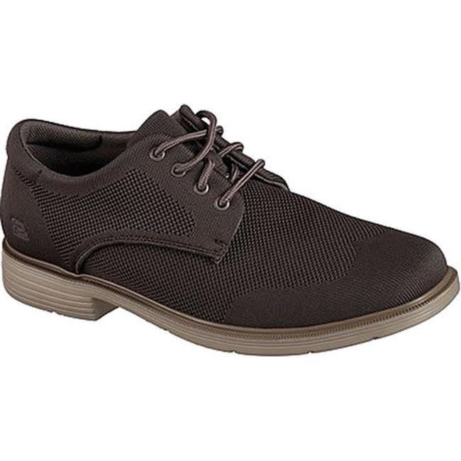 Skechers Men's Caswell Aleno Oxford Taupe