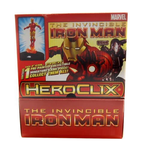Heroclix Marvel Invincible Iron Man Gravity Feed Figure Blind Pack - multi