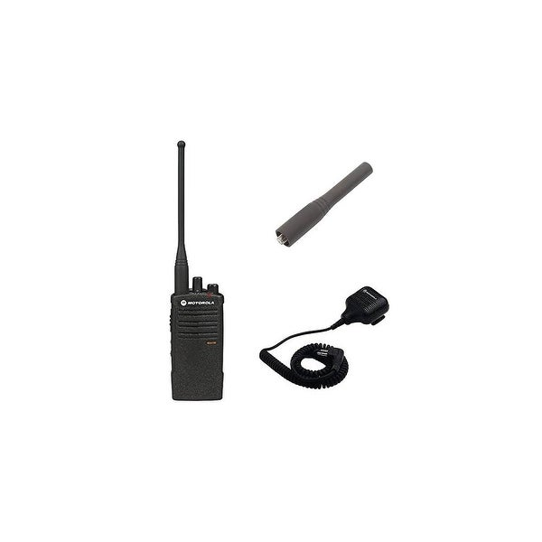 Motorola RDU4100 Accessory Bundle RDX Business Series Two-Way UHF Radio