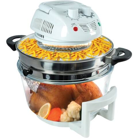 NutriChef AZPKAIRFR48 Halogen Oven Air-Fryer/Infrared Convection Cooker