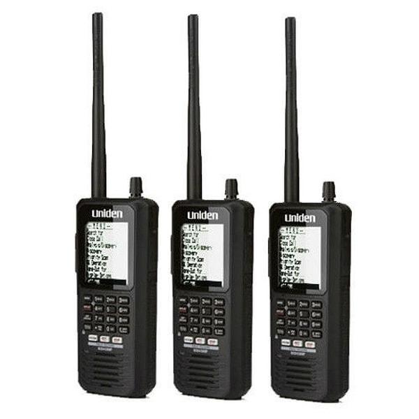 Uniden Bearcat BCD436HP(3 Pack) HomePatrol Series Digital Handheld Scanner