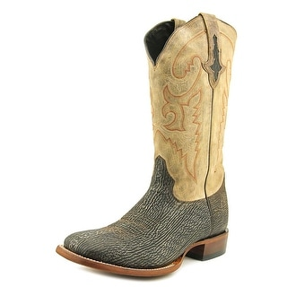Lucchese M4343 Sanded Square Toe Leather Western Boot