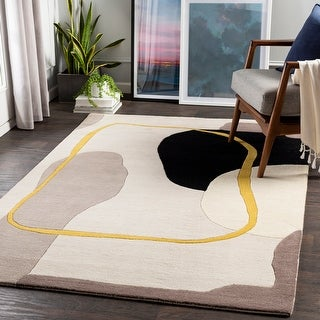 Link to Mavrick Modern Abstract Area Rug Similar Items in Rugs