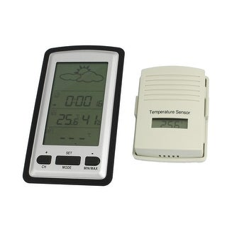 Digital Wireless Weather Station Temperature Sensor Clock 100M