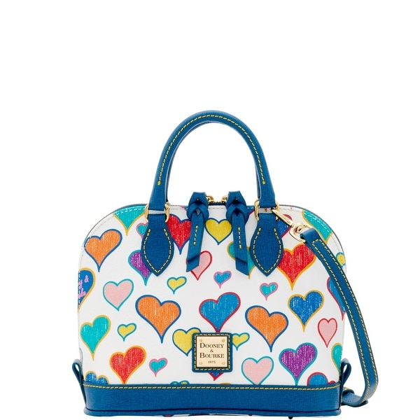 Dooney & Bourke Heart Bitsy Bag (Introduced by Dooney & Bourke at $178 in Dec 2016) - White