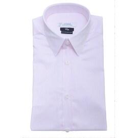 Versace Collection Cotton City Fit Dress Shirt Pink