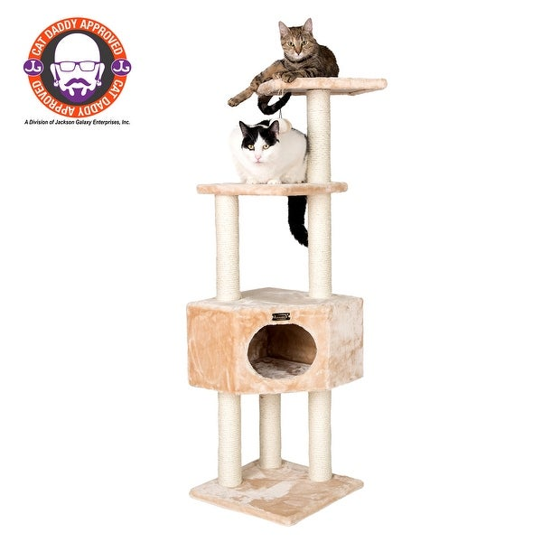 Armarkat 3 Tier Cat Tree, Armarkat Scratch furniture A5201, Beige. Opens flyout.