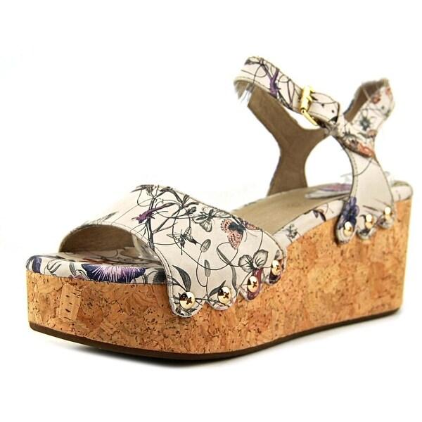 Bussola Marcia Women Floral White Sandals