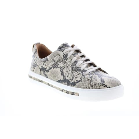 Clarks Un Maui Lace Natural Womens Lifestyle Sneakers