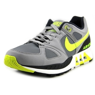 Nike Air Stab Men Round Toe Leather Gray Running Shoe