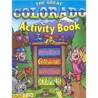 National Book Network 100365 Colorado Activity Book