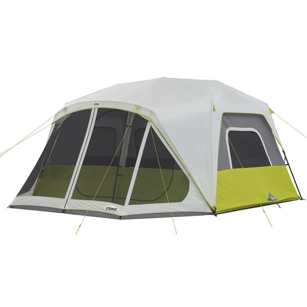 Shop Core 10 Person Instant Cabin Tent With Screen Room Free