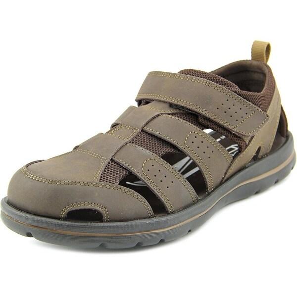Shop Rockport Get Your Kicks Fisherman Ii Men Leather