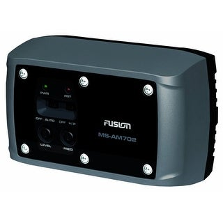 Fusion MS-AM702 - 140 Watt Power Marine Zone Amplifier with Audio Detect