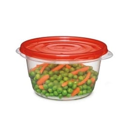 Rubbermaid Takealongs 7F52-RE-TCHIL Round Bowl Container, 25.7 Oz
