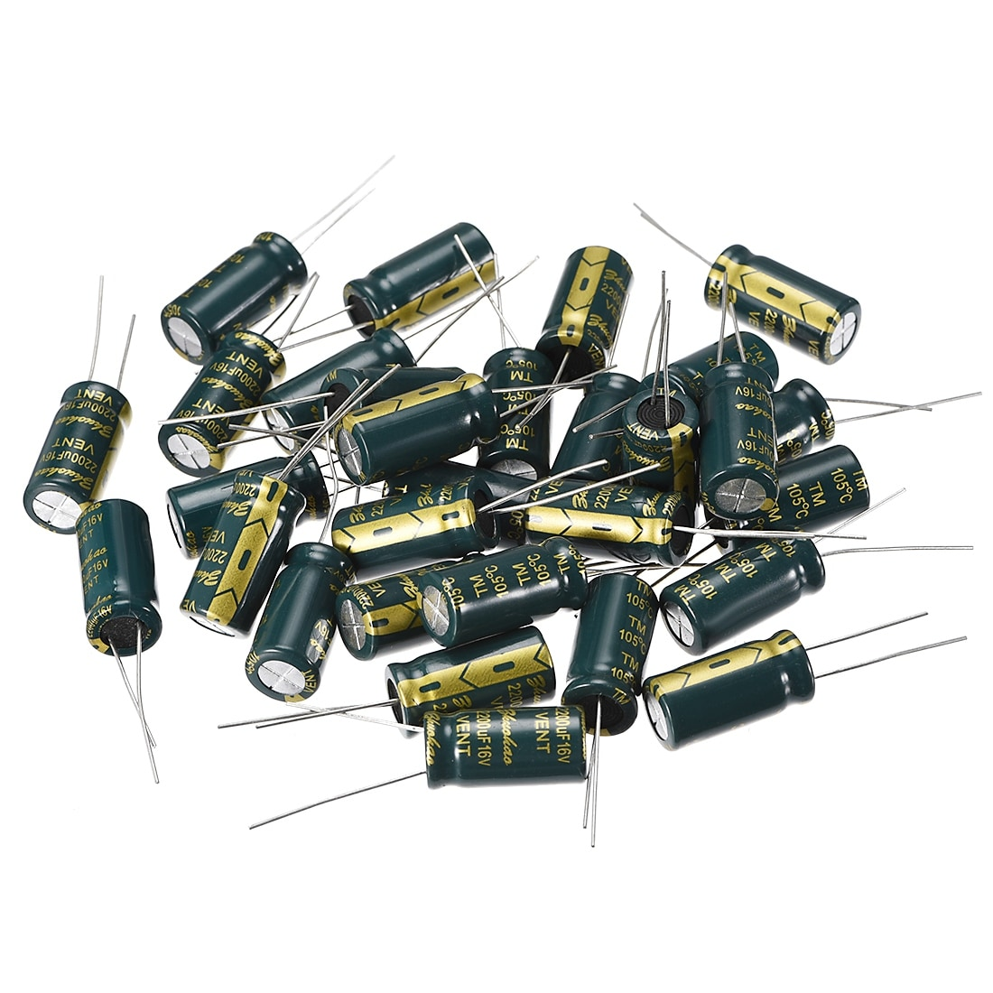 10 PCS 2200UF//10V Radial Electrolytic Capacitors 10x20mm 10V 2200UF 105°C