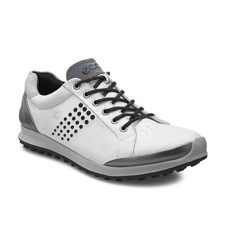 Ecco Mens Biom Golf Hybrid 2 Yak White/Black 42 Euro 8-8.5 Shoes