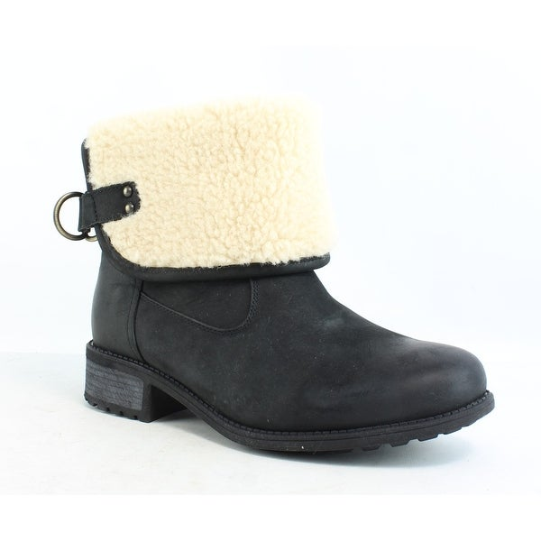 44a57c53207 Shop UGG Womens W Aldon Black Snow Boots Size 9 - Free Shipping ...