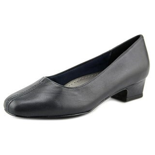Trotters Doris SS Square Toe Leather Heels