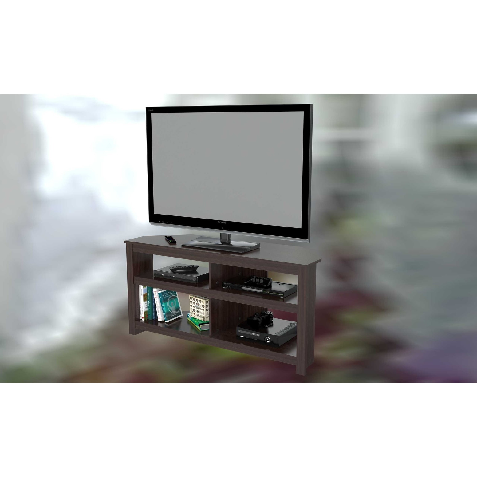 Shop TV   Stand   Melamine /Engineered Wood   Free Shipping Today    Overstock   24248468