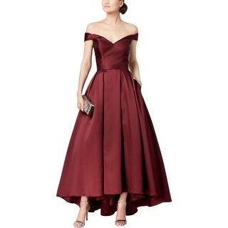 Link to Xscape Womens Formal Dress Off-The-Shoulder Evening Similar Items in Dresses