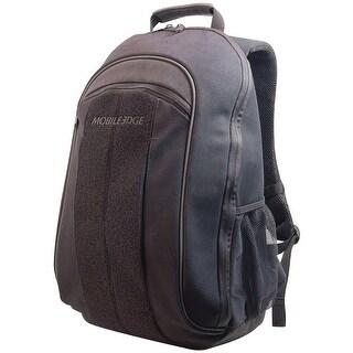 "Mobile Edge 17.3"" Eco-friendly Canvas Backpack (black)"