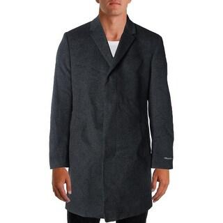 Kenneth Cole New York Mens Wool Marled Coat - 40L
