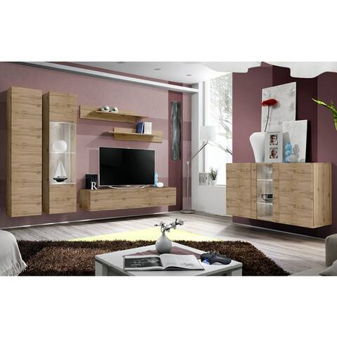 Fly SBI-A5 Wall Mounted Floating Modern Entertainment Center