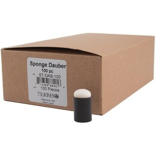 "Sponge Daubers 100/Pkg-1.25""X.625""X.625"""