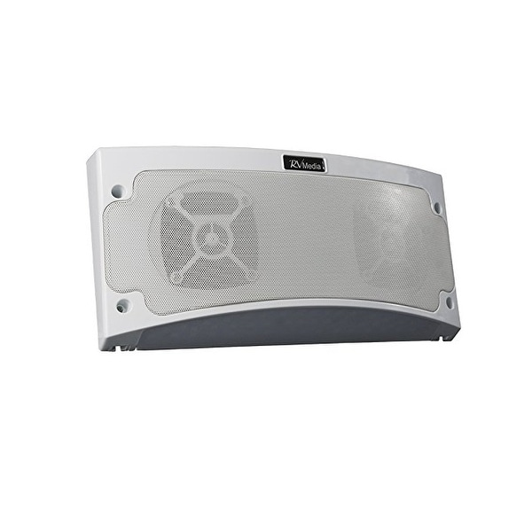Bluetooth Speaker, White Light, White