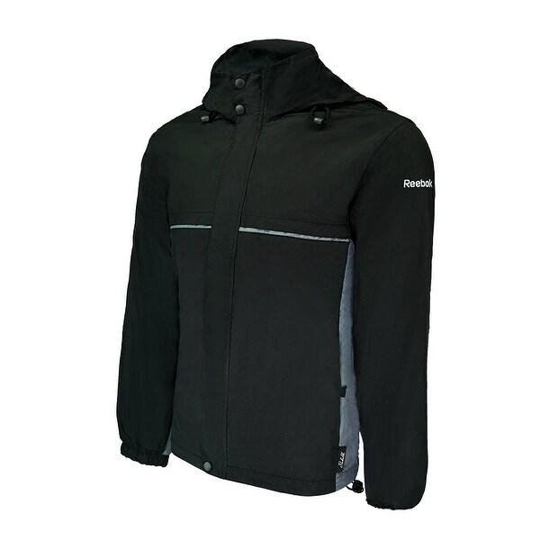 4cb352de6a Shop Reebok Men s Express II Water-Resistant Wind Jacket - Free Shipping On  Orders Over  45 - Overstock - 27383824