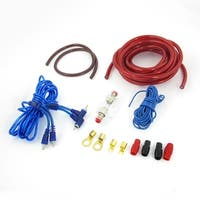 Car Auto Cables Amplifier RCA Speaker Wiring Cable Ground Wire Kit Set