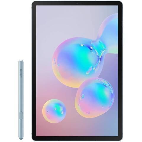 """Samsung Galaxy Tab S6 10.5"""" Tablet 256GB WiFi Qualcomm Snapdragon 855 X82.84GHz,Cloud Blue"""