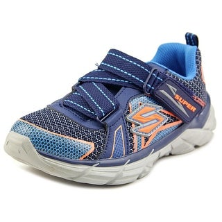 Skechers Rive Youth Round Toe Synthetic Blue Sneakers