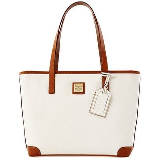 Dooney & Bourke Pebble Grain Charleston (Introduced by Dooney & Bourke at $198 in Apr 2012) - White