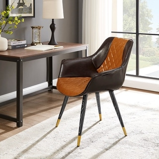 Link to Carson Carrington Igelsjoberg Upholstery Armrest Accent Desk Chair Similar Items in Living Room Chairs