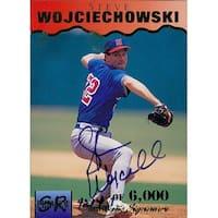 Signed Wojciechowski Steve Steve Wojciechowski 1995 Signature Rookies Baseball Card autographed