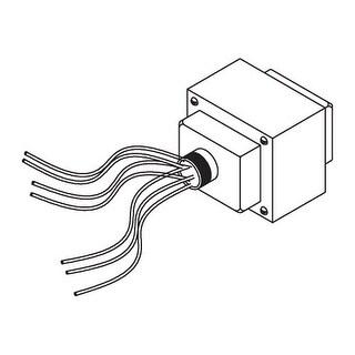 Elco P75-7 277V to 12V 75W Magnetic Transformer - N/A